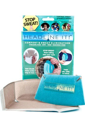 Headline It!  Wicking Sweat Liner for Wigs
