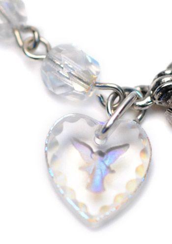 Irridescent Guardian Angel Bracelet |