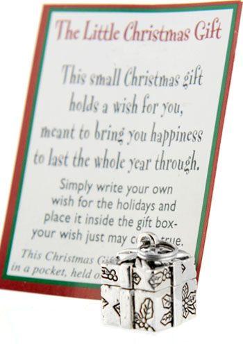 The Little Christmas Gift Prayer Box