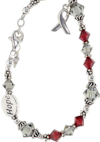 Multiple Sclerosis Awareness Bracelet - Sterling Silver