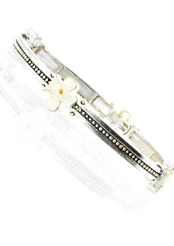 Mustard Seed Cross Bracelet