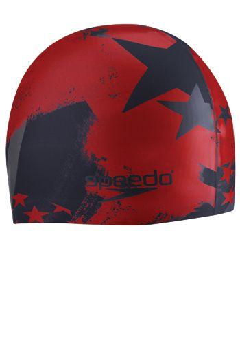 Speedo Home of the Fast Silicone Swim Cap