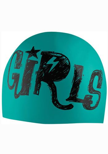 Speedo Fast Girls Silicone Swim Cap