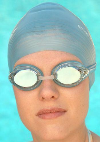 Women's Speedo Vanquisher 2.0 Mirrored Swim Goggle