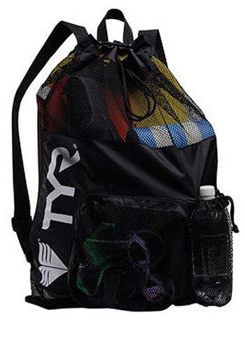 TYR Big Mesh Drawstring Swim Bag - Backpack