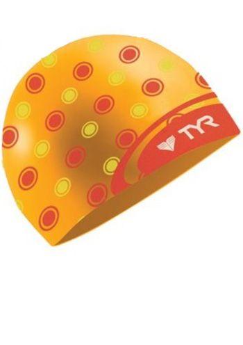 TYR Swim Caps: Polka Dot Swimming Cap