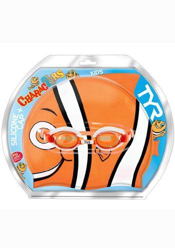 TYR Splash Swim Cap & Goggle Combo  