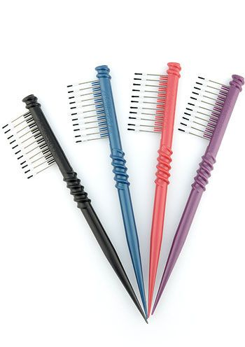 Petite Wire Wig Comb - Assorted Colors |