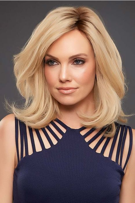 Petite Carrie by Jon Renau Wigs - Remy Human Hair, Lace Front, Monofilament Wig