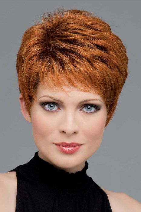 Heather by Envy Wigs - Human Hair/Heat Friendly Synthetic Blend, Hand Tied, Lace Front, Monofilament Top Wig