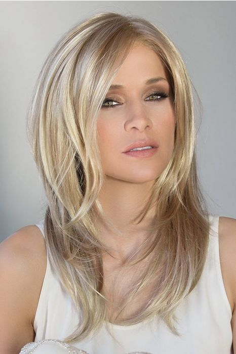 Fortune by Ellen Wille Wigs - Mono Top, Hand Tied, Extended Lace Front Wig