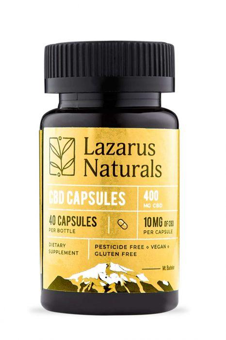10mg CBD Oil   40 Full Spectrum CBD Capsules   Hemp Extract & Natural Ingredients