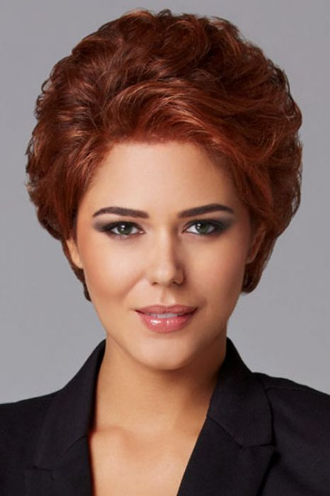 Pinnacle by Eva Gabor Wigs - Lace Front, Hand Knotted Top Wig