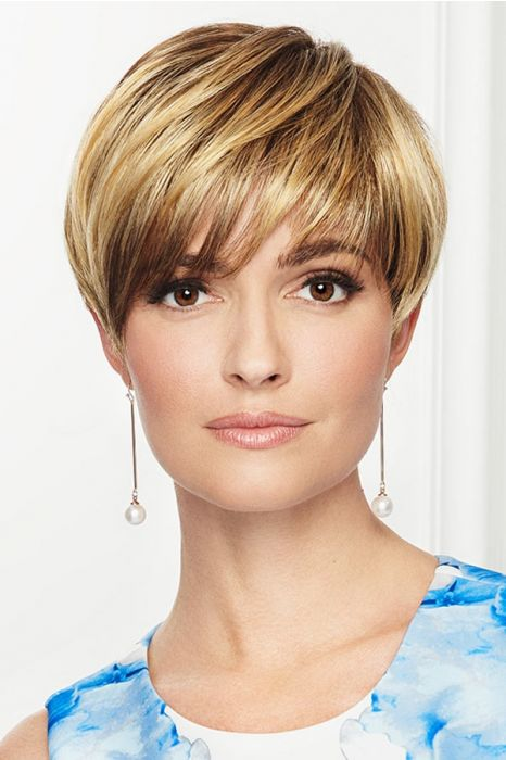 So Stylish by Eva Gabor Wigs - Lace Front, Monofilament Part Wig