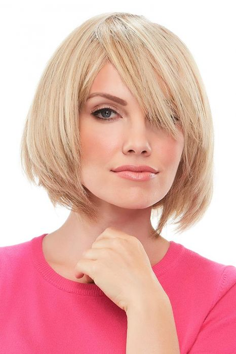 Top This 8 Inch Human Hair Topper by Jon Renau Wigs - Single Monofilament, Remy Human Hair Topper