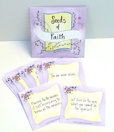 Seeds of Faith, Hope, Encouragement - Inspirational Messages for Cancer Patients