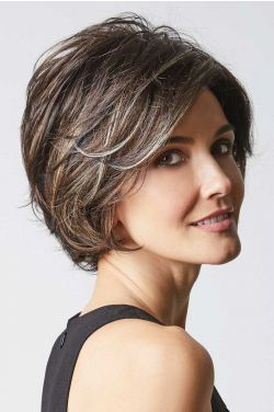 Brenna by Rene of Paris Wigs - Lace Front, Partial Monofilament Wig