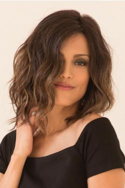 Evanna by Rene of Paris Wigs - Lace Front, Partial Monofilament Wig