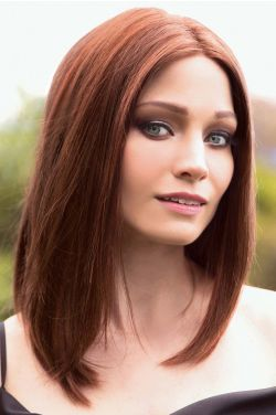 Mia by Rene of Paris Wigs - Human Hair, Hand Tied, Lace Front, Monofilament Top Wigs