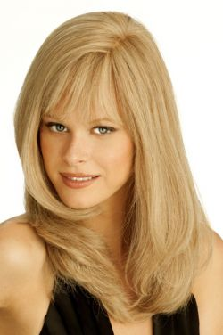 Amber by Louis Ferre Wigs - Human Hair-Monofilament Wig