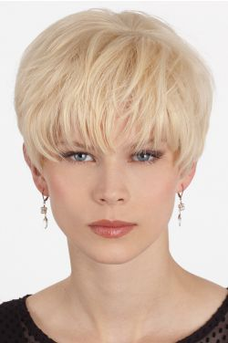 Crystal by Louis Ferre Wigs - Human Hair, Hand Tied, Monofilament Wig