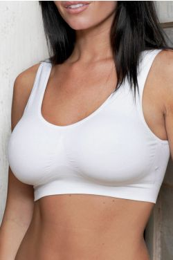 Coobie Bras #9060 | Comfort Bra with Removeable Inserts | Everyday or Mastectomy