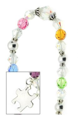 Autism Awareness Bracelet in Sterling Silver |