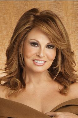 Bravo by Raquel Welch Wigs- Human Hair, Monofilament, Lace Front Wig