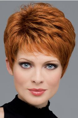 Heather by Envy Wigs - Mono Top, Lace Front, Hand Tied, Human Hair, Synthetic Blend Wig