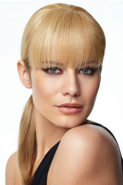 Human Hair Bangs by Raquel Welch Wigs- Monofilament