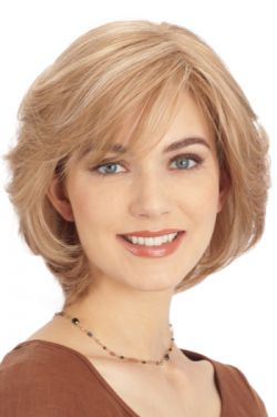 PLF004HM by Louis Ferre Wigs - Human Hair, Monofilament, Hand Tied, Lace Front Wig