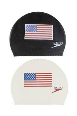 Speedo Latex Flag Swim Cap