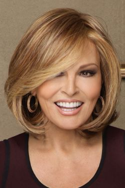 Upstage Large by Raquel Welch Wigs - Monofilament, Lace Front, Heat Friendly Synthetic Wig