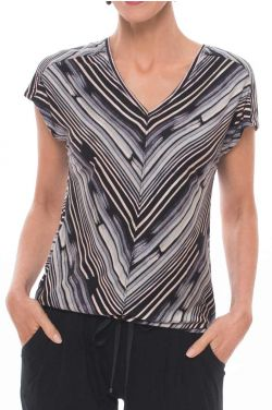 Viscose from Bamboo T Shirt | Cardani Clothing Adison V-Neck Tee Shirt Top