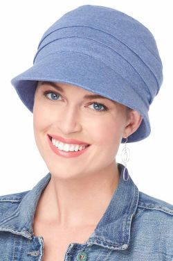 UPF Adventure Cap | Cardani 100% Cotton Newsboy Hat with Aloe Lining | UPF 50+ Sun Protection