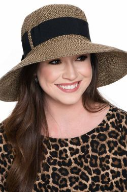 Aileen Chiffon Ribbon Sun Hat | Spring and Summer Hats for Women