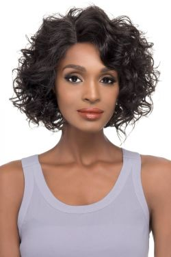 Alaina by Vivica Fox Wigs - Brazilian Natural Remy Human Hair, Lace Front Wig