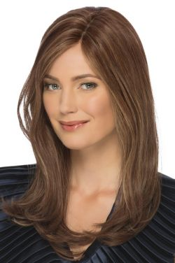 Angelina by Estetica Designs Wigs - Remi Human Hair, Mono Top Wig