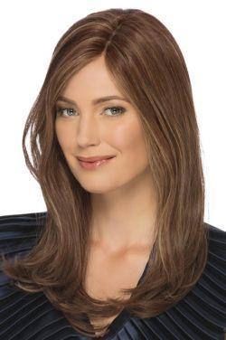 Angelina by Estetica Designs Wigs - Remi Human Hair, Mono Top Wig