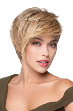 Angled Pixie by Tressallure Wigs - Heat Friendly Synthetic Wig