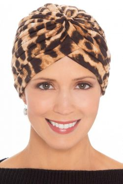 Animal Print Twist Turban | Stylish Turbans for Women