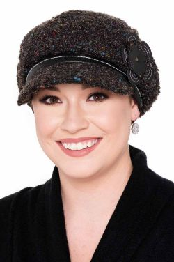 Annalise Boucle Newsboy Hat | Winter Hats for Women