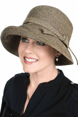 Audrey Brimmed Bucket Sun Protection Hat