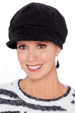 Aviana Wool Blend Newsboy | Winter Hats for Women