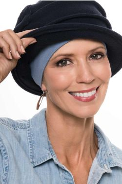Bamboo Viscose Comfort Headband | Wear Under Hats for Coverage & Security | Cardani Wide Headband