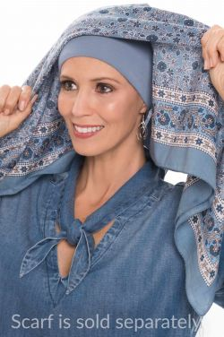 Cardani Padded Headband | Hat & Scarf Volumizer | Wear Under Headwear for Volume
