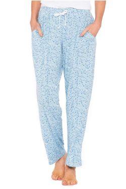 Cardani Moon and Stars Pajama Pants   Silky Pajama Pants for Women
