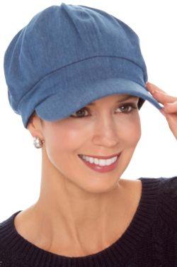 Denim Danna Newsboy Hat | Women's Newsboy Cap