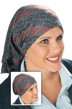 Bendi Bandeau - Multi Functional Seamless Headwear - 14 Looks! Chemo Scarf, Beanie & More!