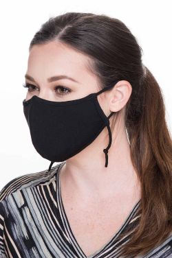 Size LARGE | Organic Cotton Face Mask with Filter Pocket  | Medical & Surgical Face Mask